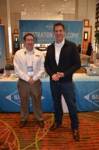 Jason Krueger, manager Ayres Associates Geospatial Division, catches up with Jake Schneider, President and CEO of Cartegraph